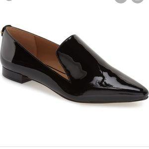 Patent black leather Calvin Klein shoes Elin